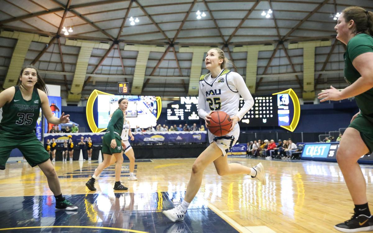 Northern Arizona hosts Portland State