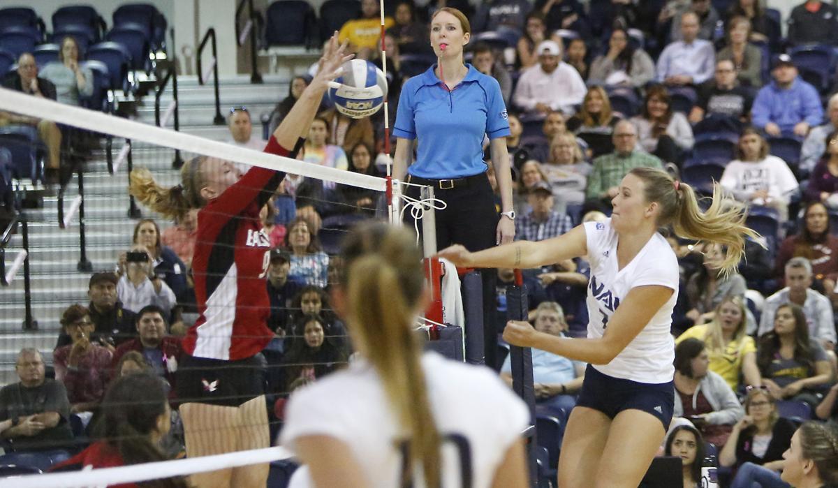 NAU Eastern Washington Volleyball