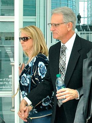 Accused lobbyist's fate hinges on ex-wife