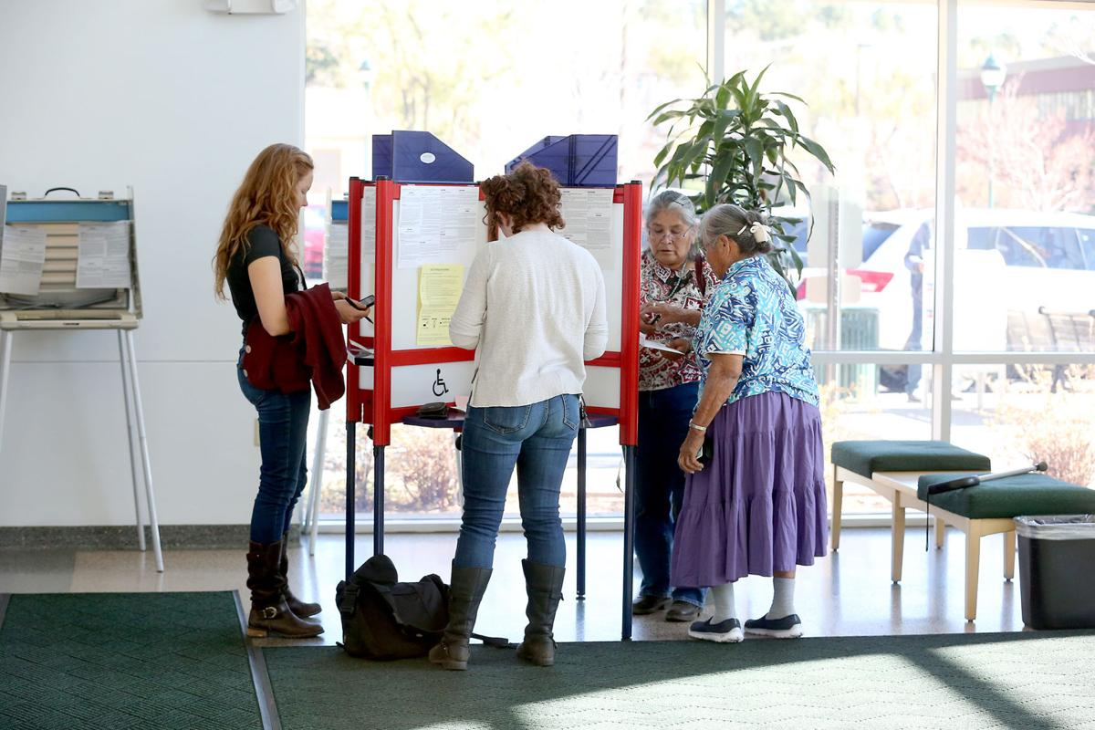 Casting Their Vote