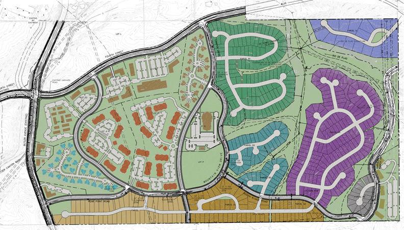 Canyon Del Rio development site map