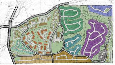 Canyon del Rio development site map
