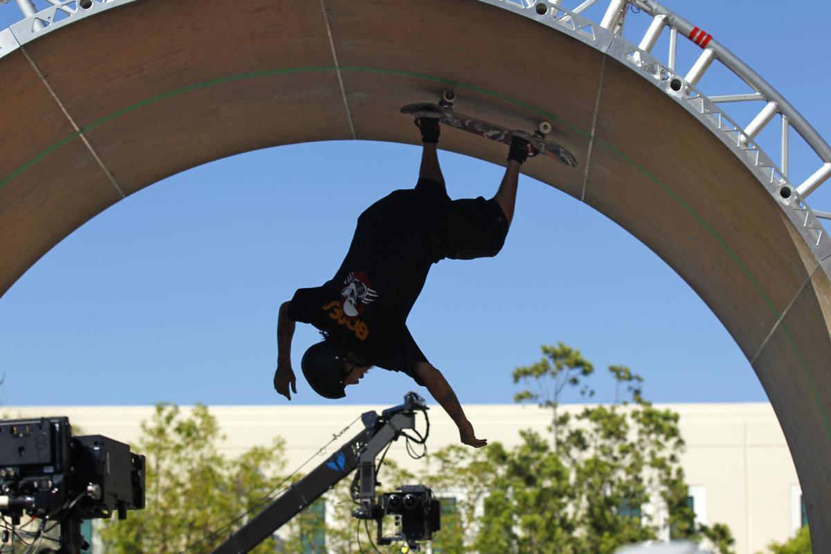 Skateboarder Charlie Blair