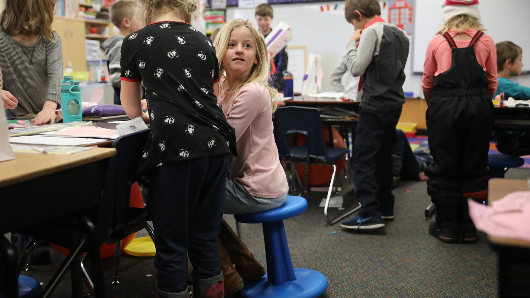 KORE chairs expand flexible seating options at Sechrist