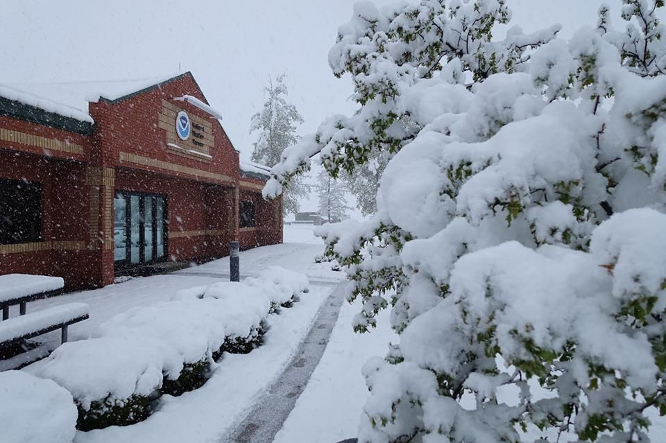 Weather Service office snow