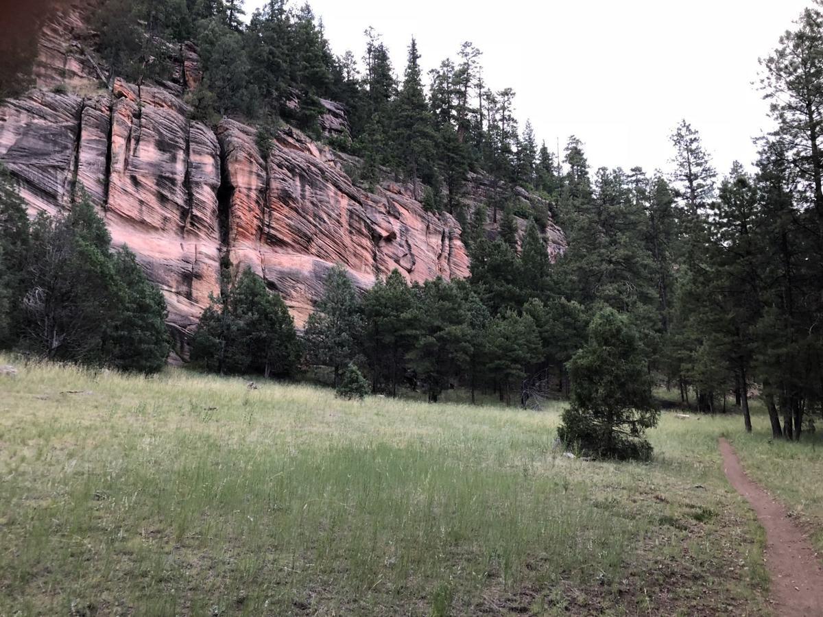 marshall lake cliffs