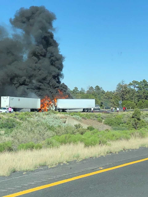 One dead in accident on Interstate 40 on Thursday afternoon