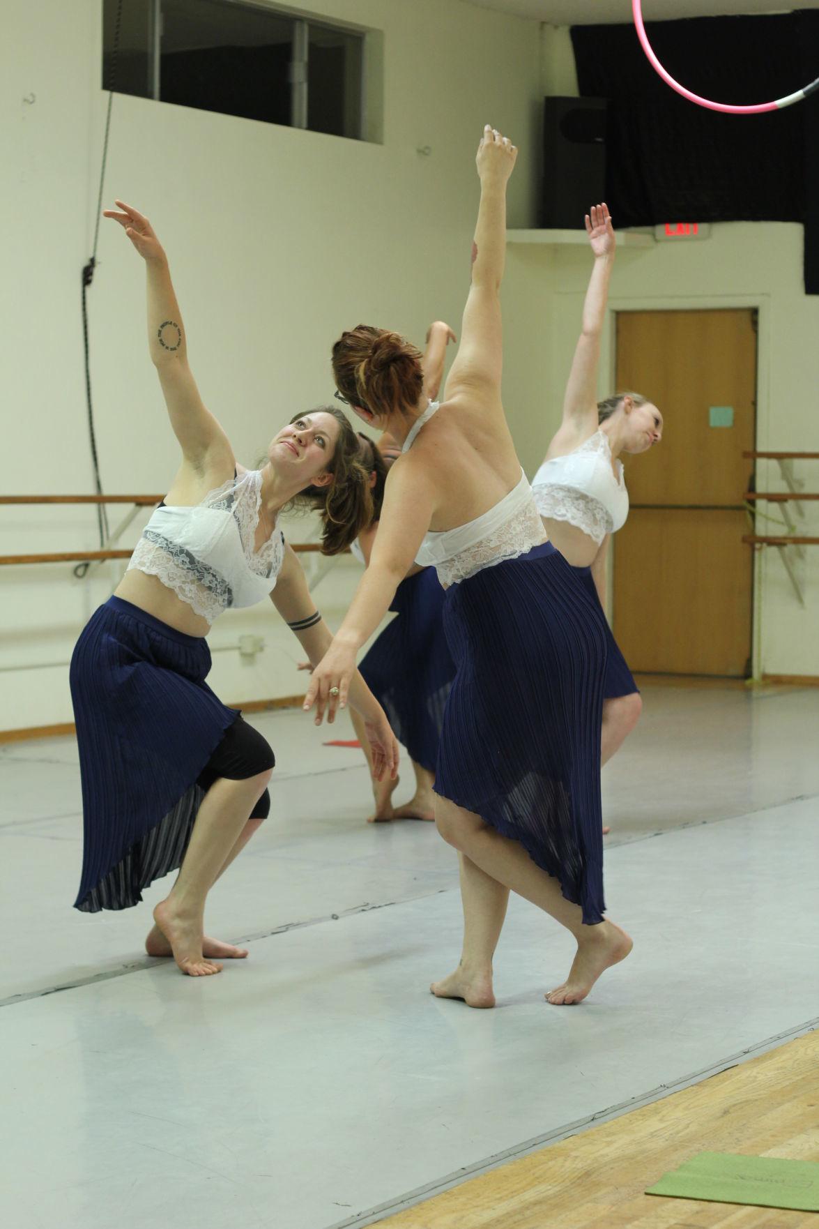 Samantha Quintanilla and Canyon movement company dancers.JPG