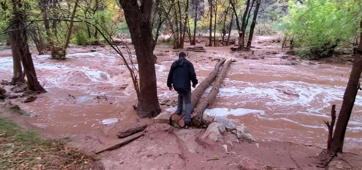 Havasupai flooding