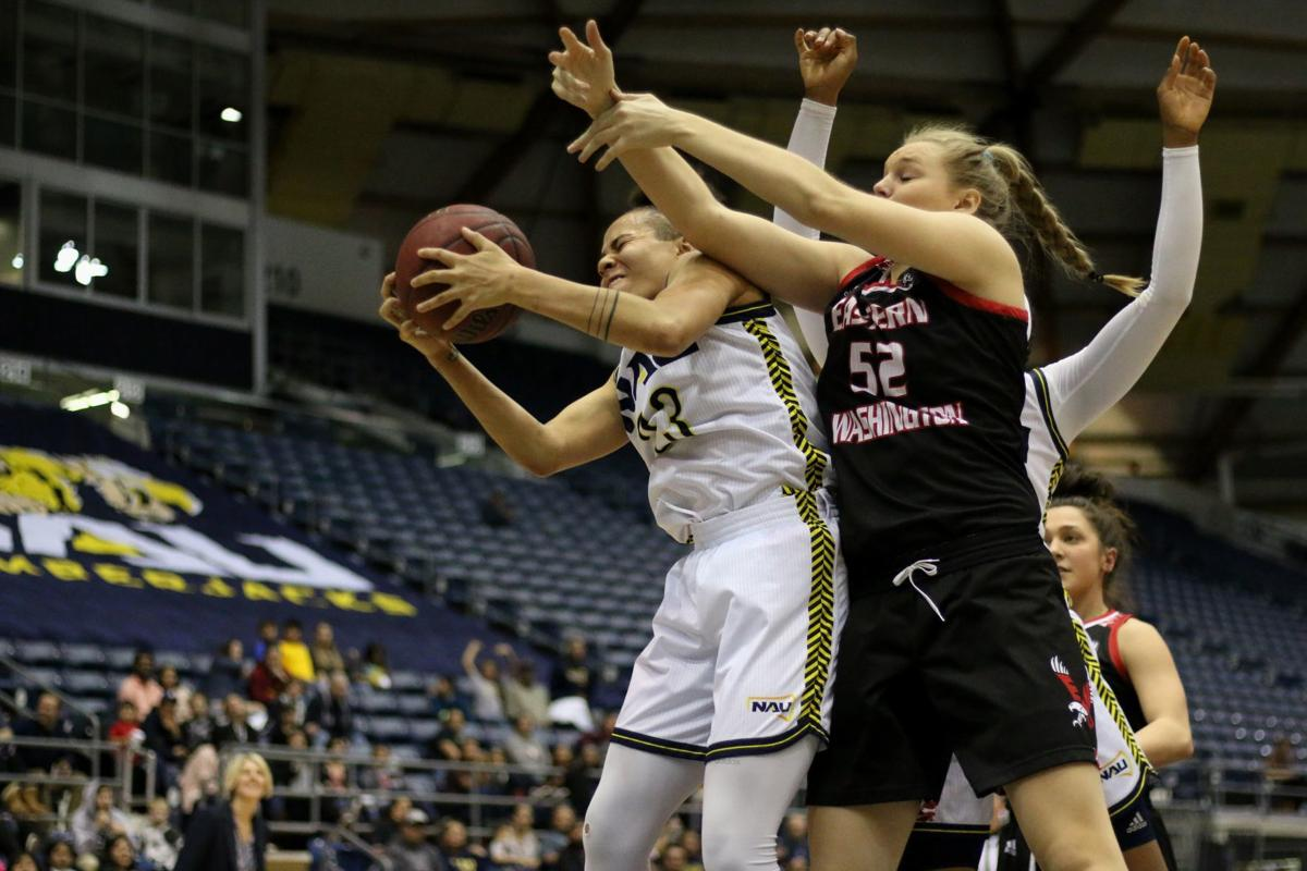 NAU Women Eastern Washington