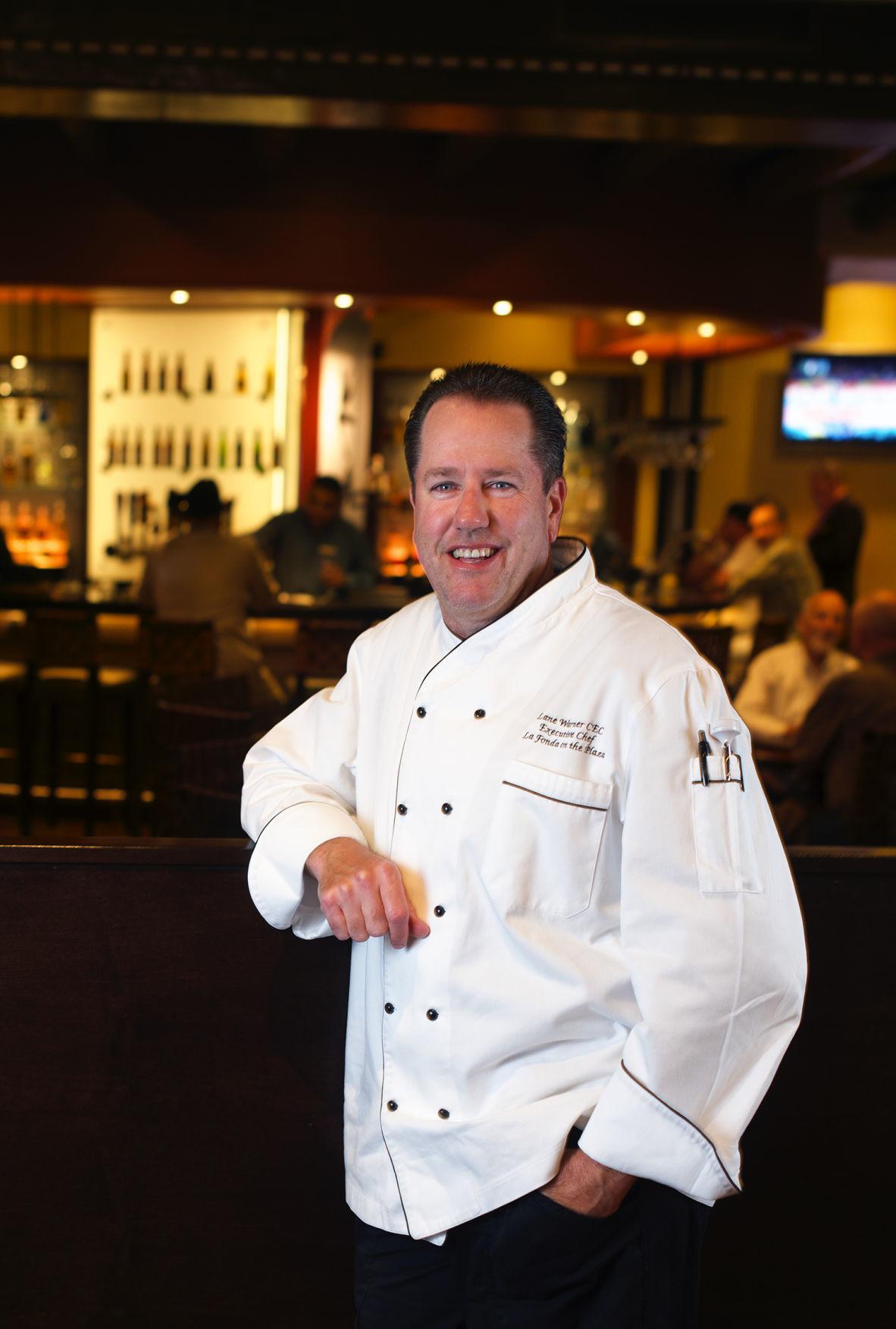 Chef Warner of La Fonda