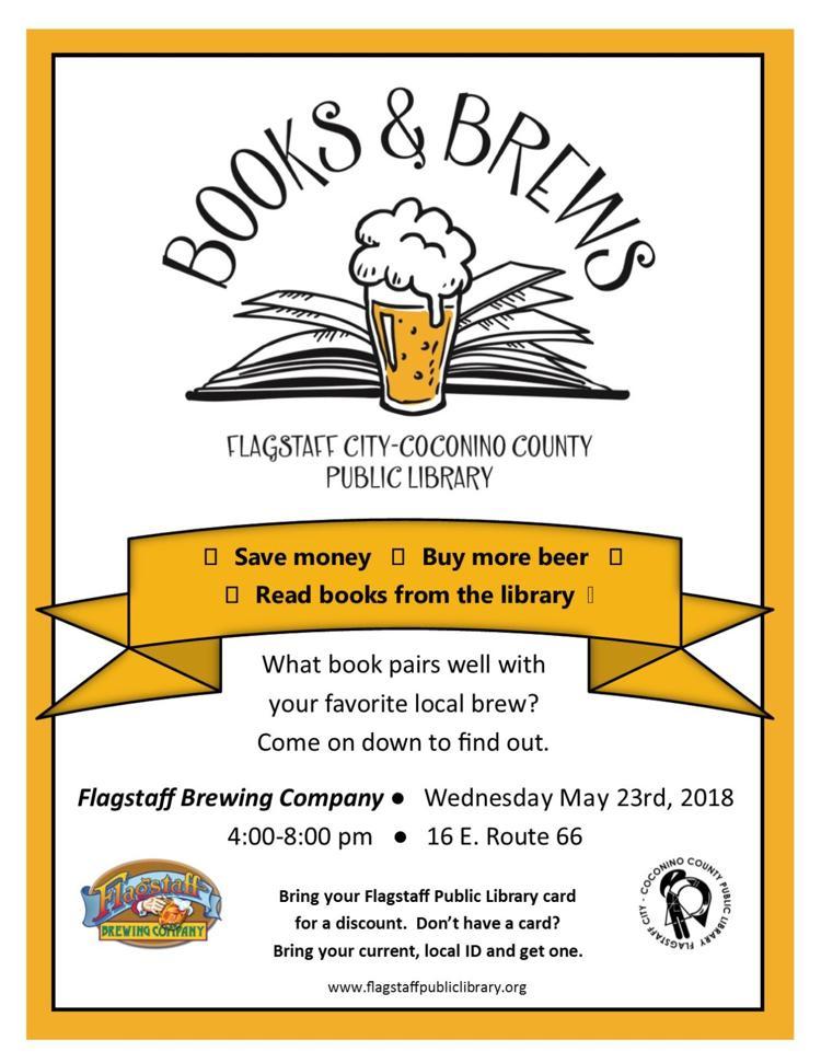 Books & Brews @ Flag Brew