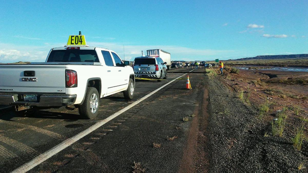 One dead after part of Highway 89 washed out | Local