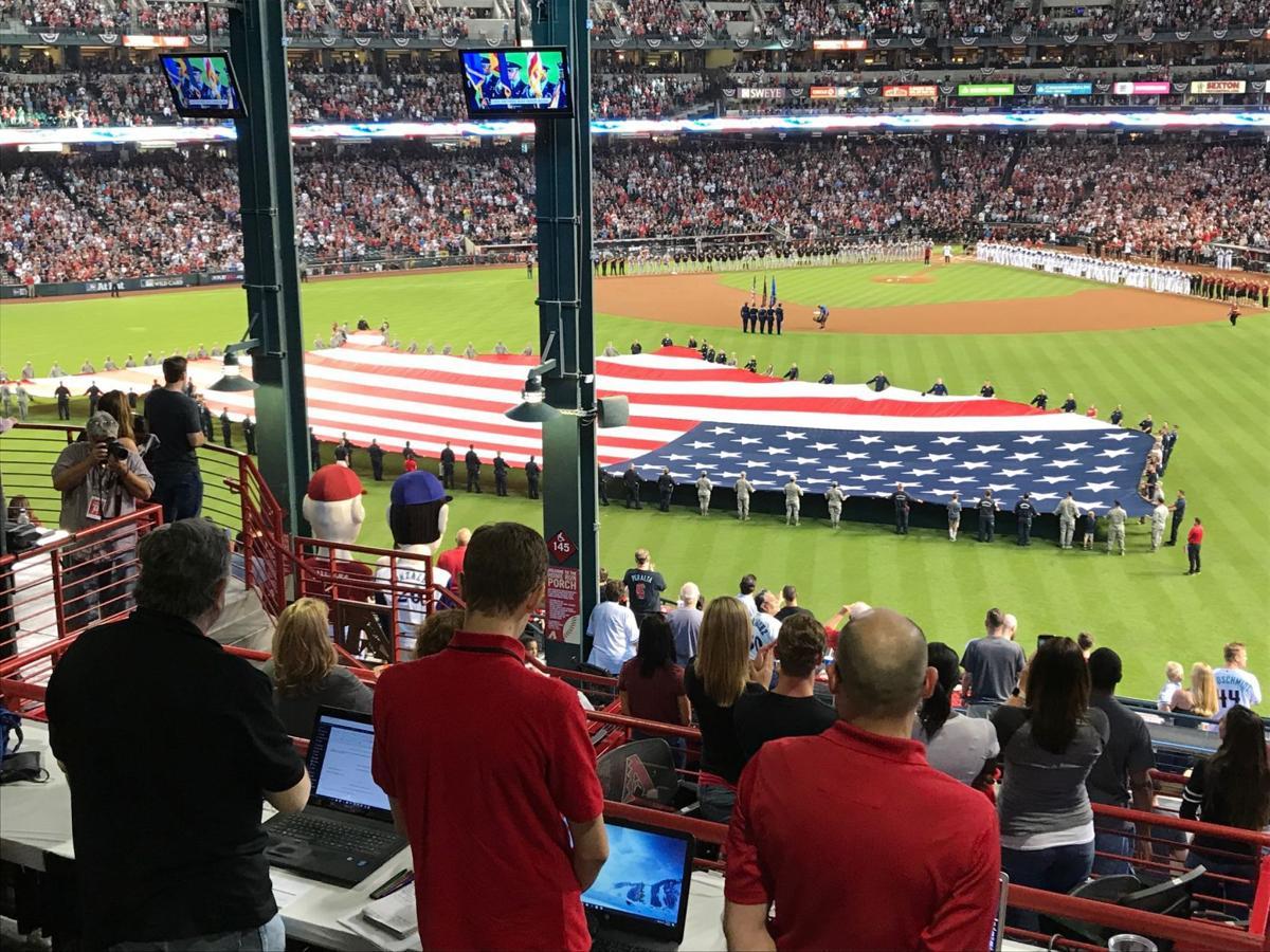 national anthem flag