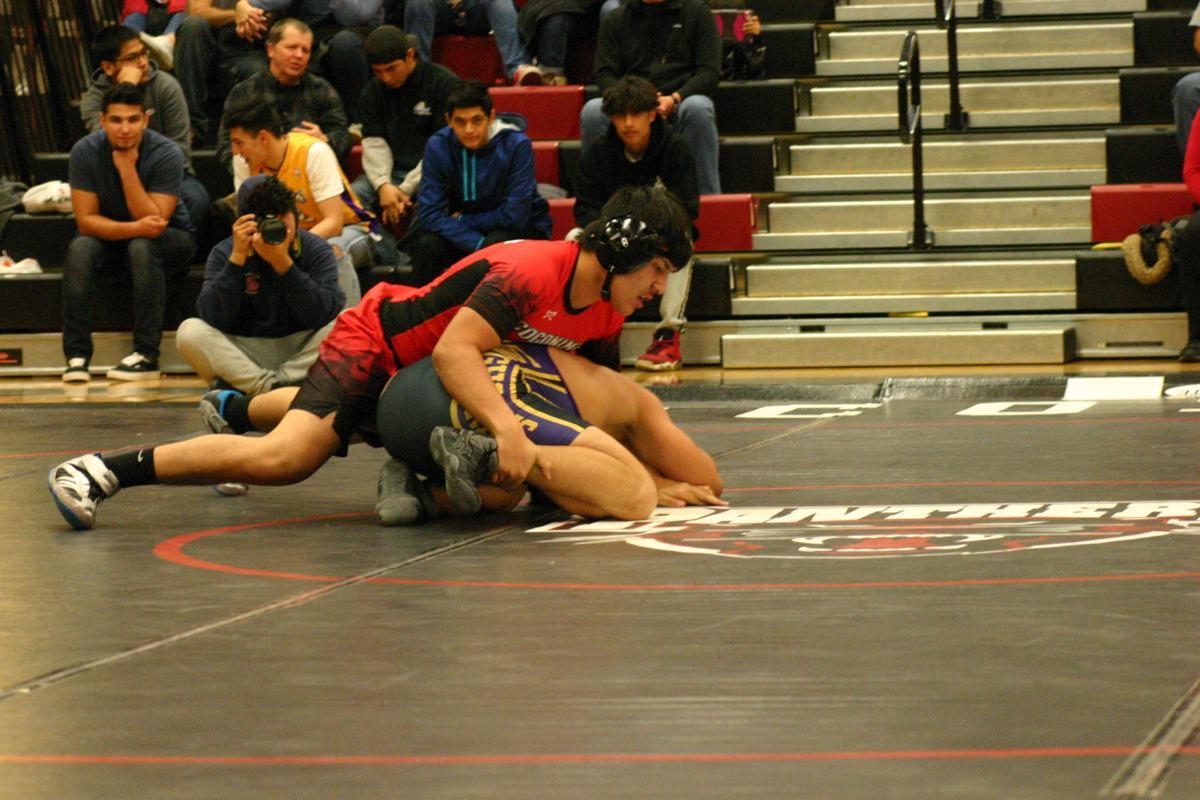 Coconino wrestling Mauricio Quijano