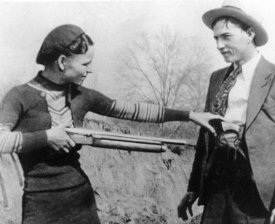 AP Bonnie And Clyde Auction