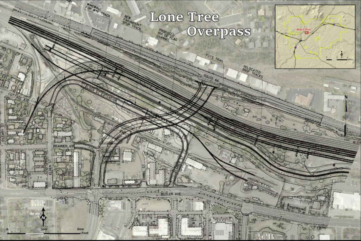 Lone Tree overpass project