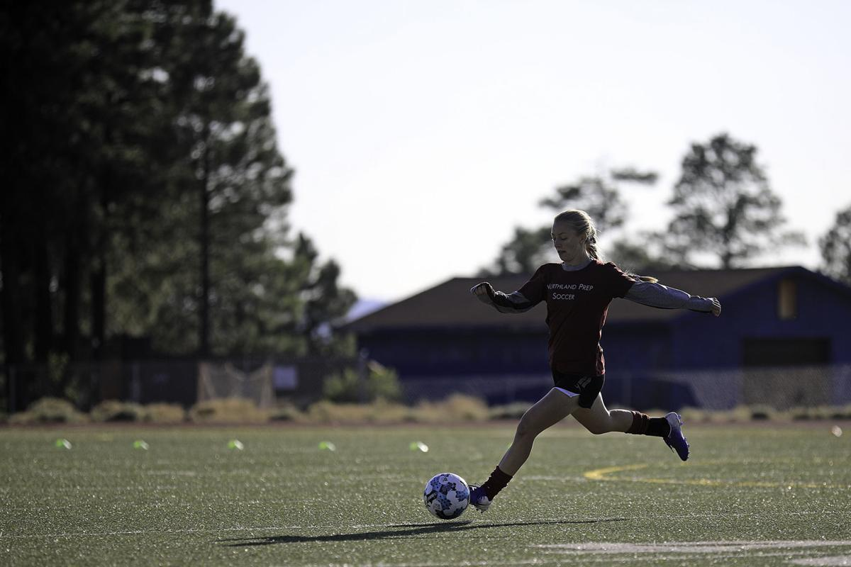 Northland Preparatory Academy Girl's Soccer Returns to Practice