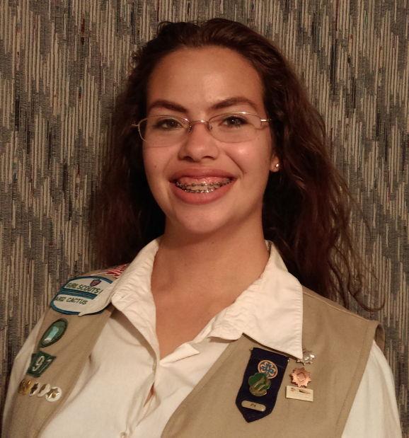girl scouts earn gold award local azdailysun