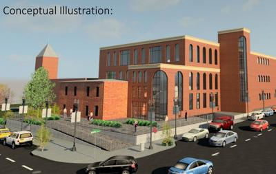 Flagstaff Municipal Court Conceptual Illustration