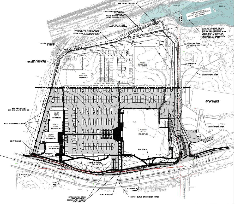 Site Plans for New Kohl's