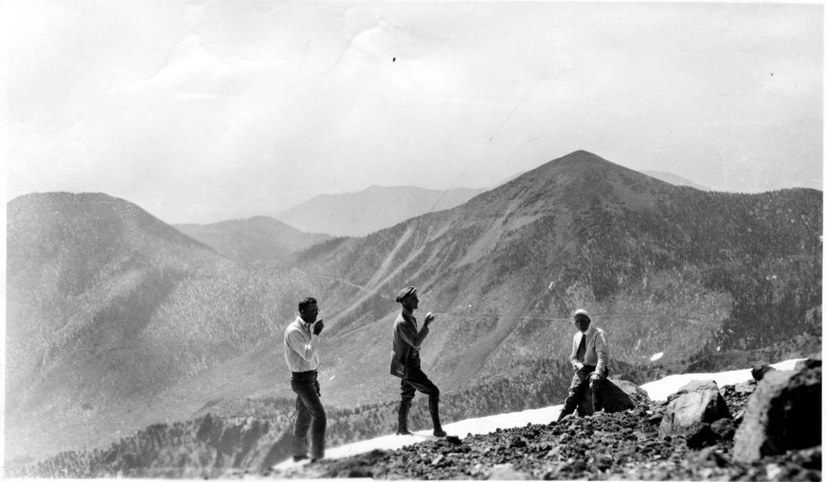 Group visiting the San Francisco Peaks 1930