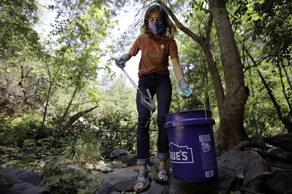 Trash Troubles in Oak Creek Canyon