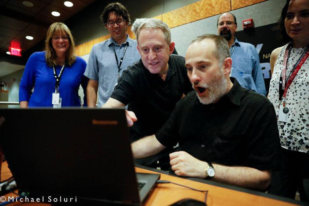 Pluto surprise