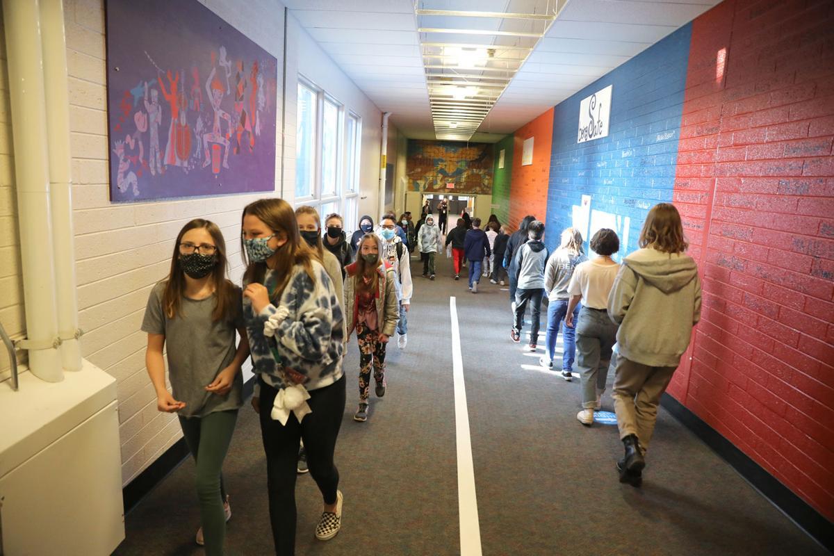 Busy Hallways Again