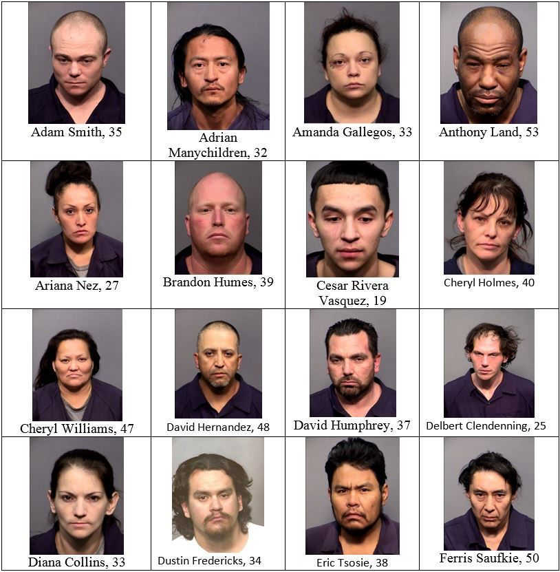 "Drug bust operation ""riptide"" leaves 35 arrested 
