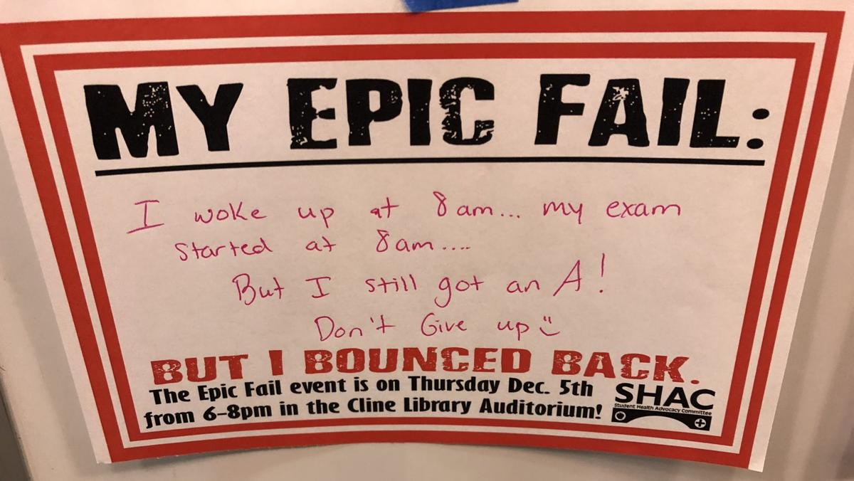 epic fail note