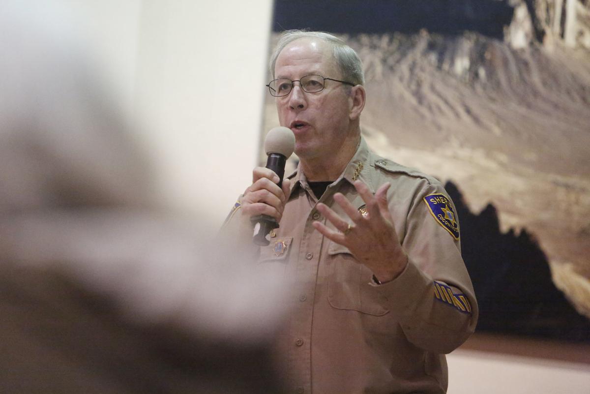 Jim Driscoll at community forum