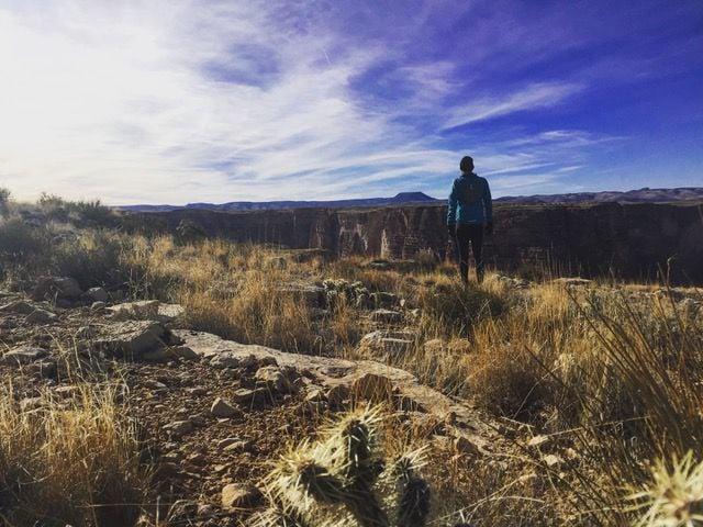 Shaun at the Canyon