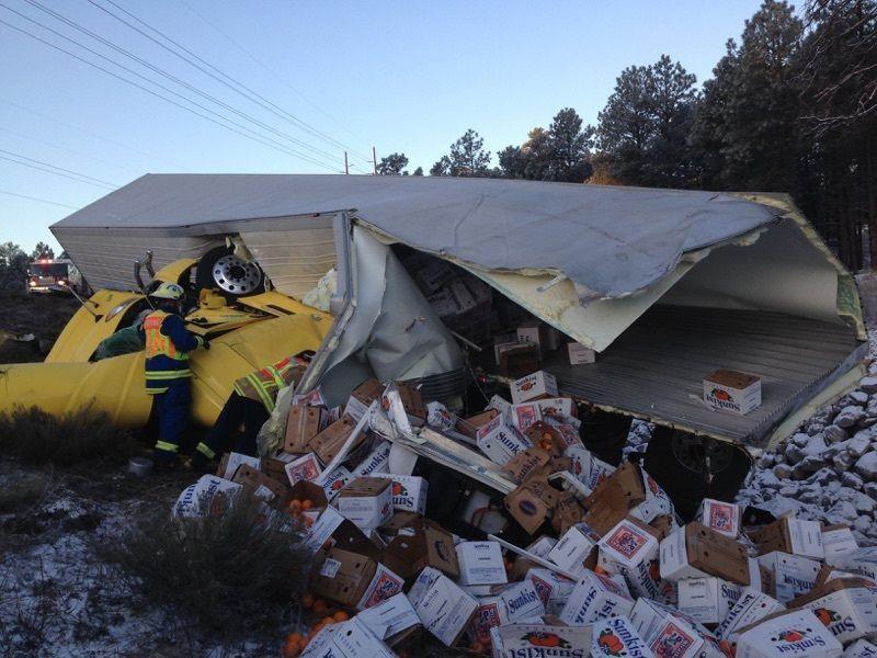 Two killed in crash on I-40 in Flagstaff | Local | azdailysun com