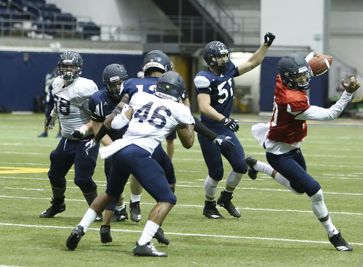 Northern Arizona University Football Scrimmage