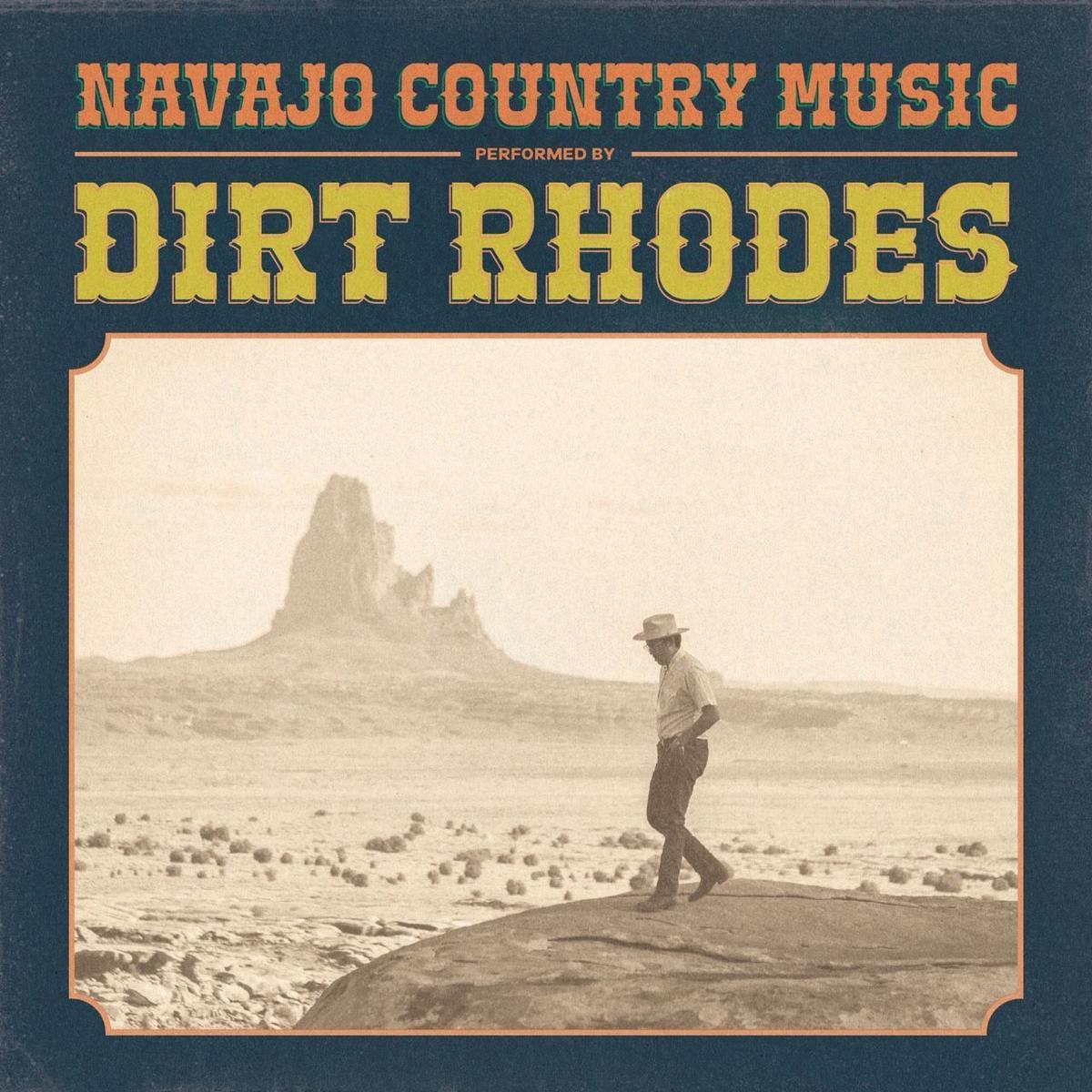 COVER_Navajo Country Music album cover, album art by Ryan Allison aka Dirt Rhodes.JPG