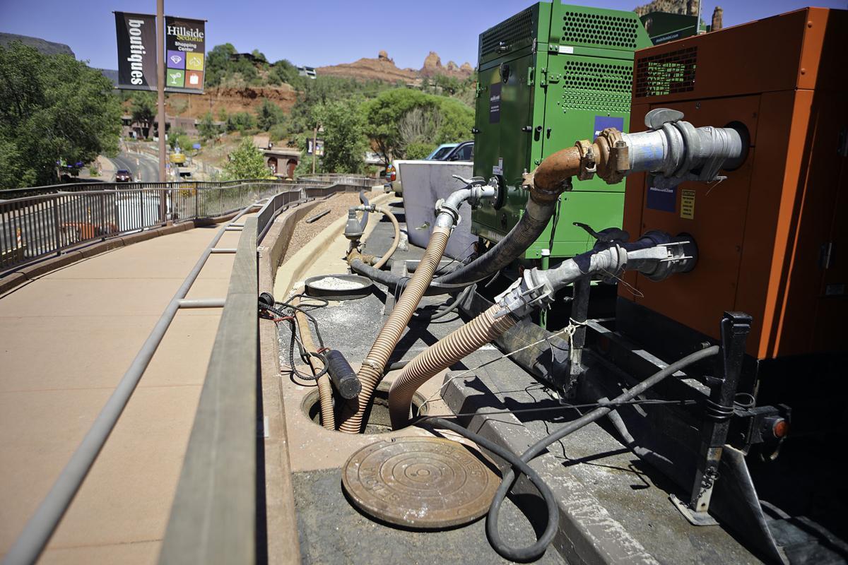 Kinney Construction Sedona Sewage Spill