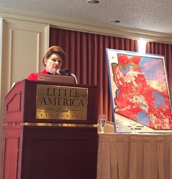 Brenda Barton speaks about public lands