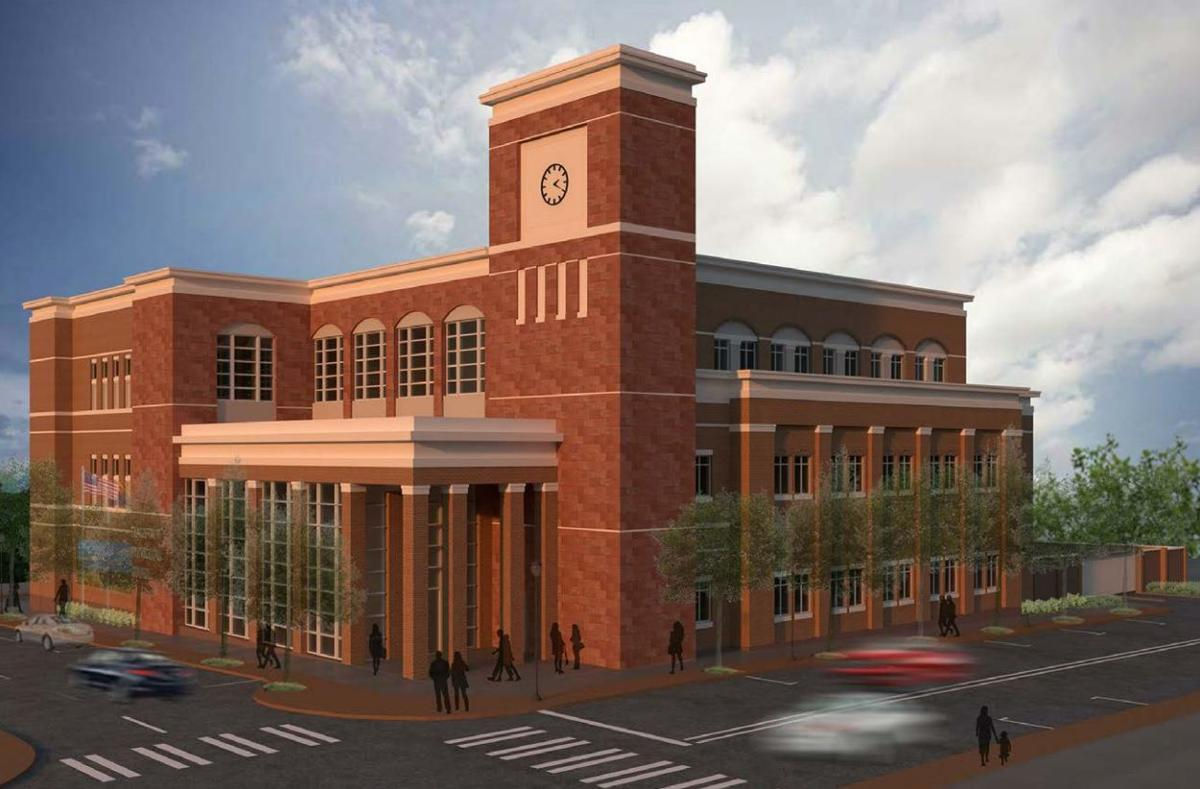 Municipal Courthouse rendering