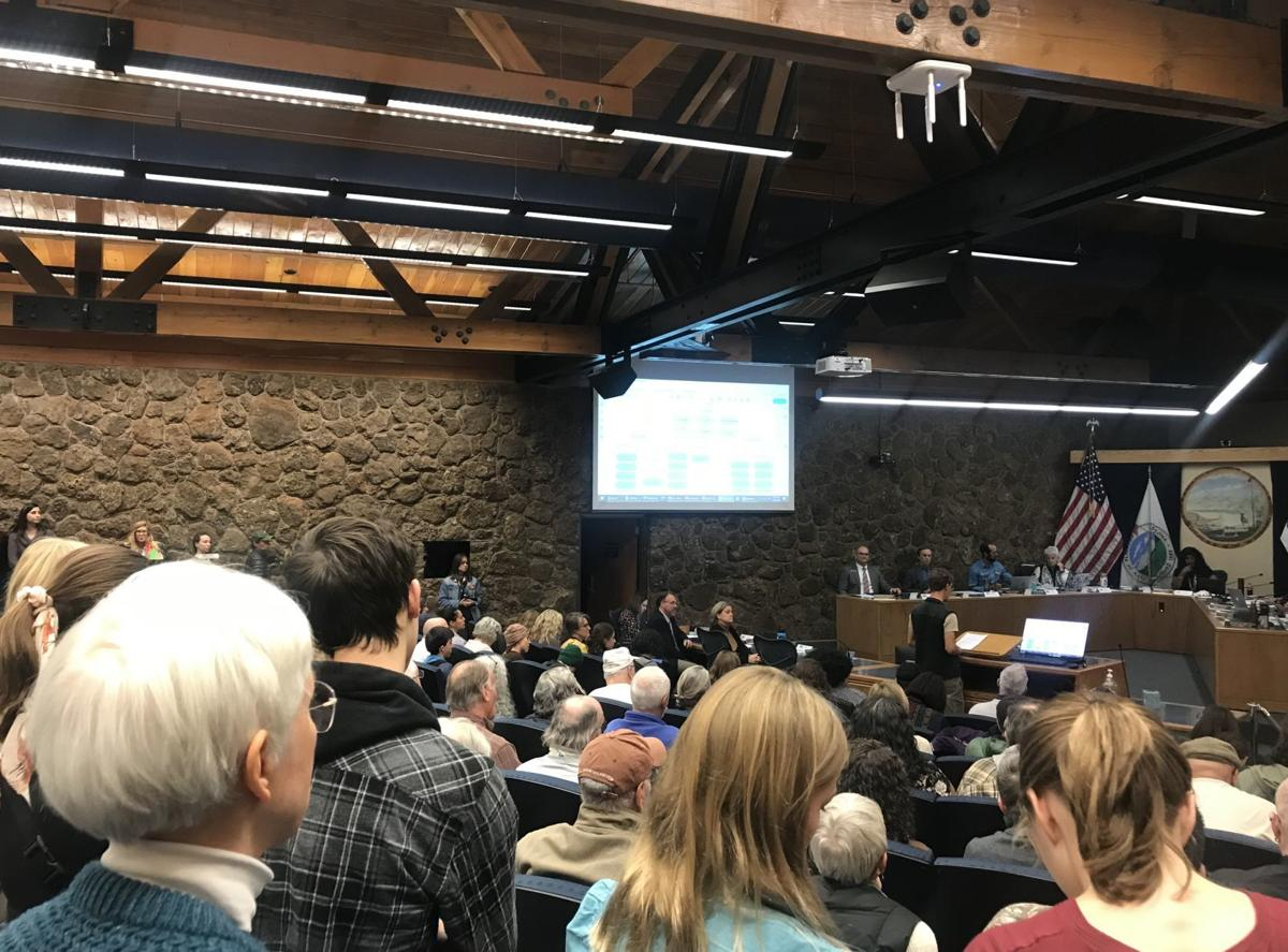 Flagstaff city council talk climate change resolution at city hall