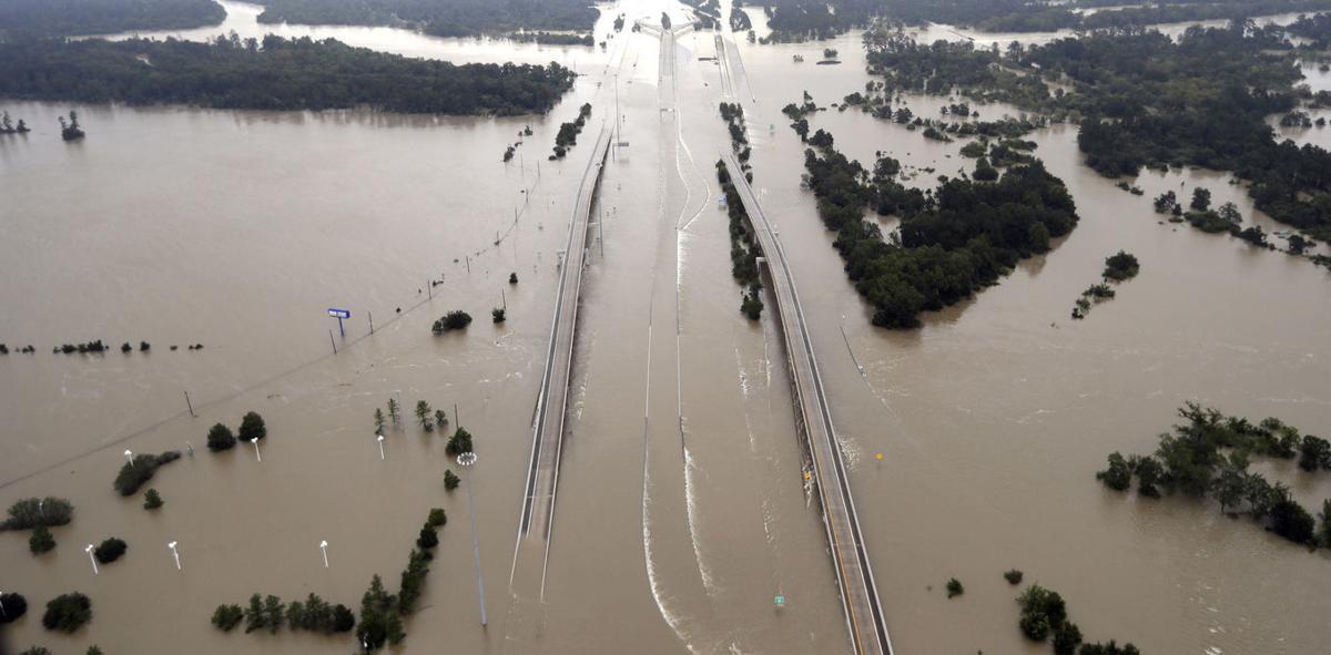 Trump Climate Change Harvey