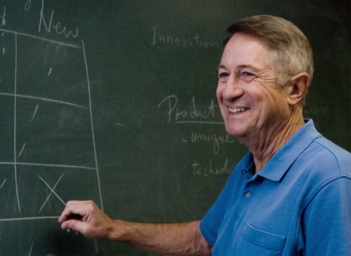 Bob Gore at chalkboard 2000s _2 (cropped).jpg