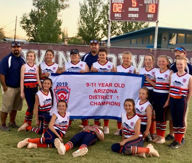 Flagstaff Softball takes 9-11s District Title