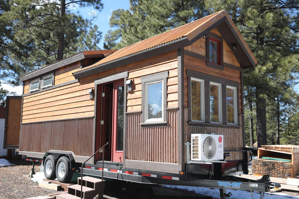 Tiny houses find a home in Flagstaff | News | azdailysun.com on pod homes, 1000 sq ft. small homes, busses from tiny homes, tiny key west homes, 400 sq ft. small homes, tiny pueblo homes, mini custom homes,