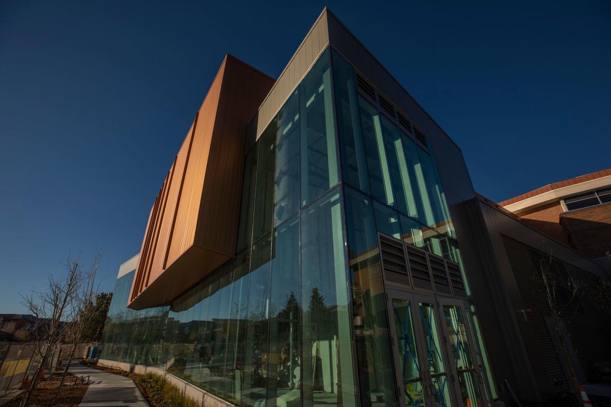 Exterior of new Kitt Recital Hall