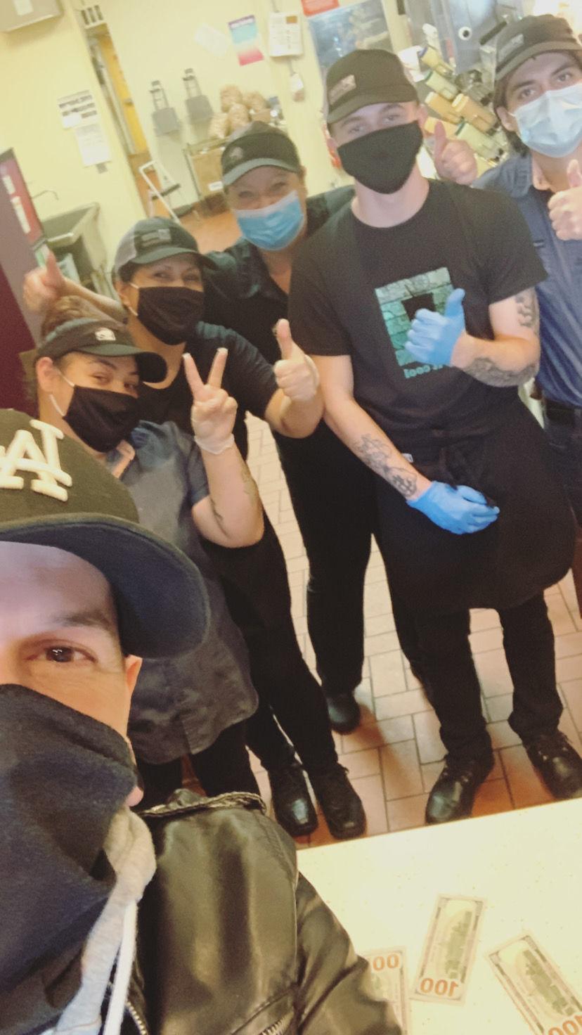 taco bell selfie