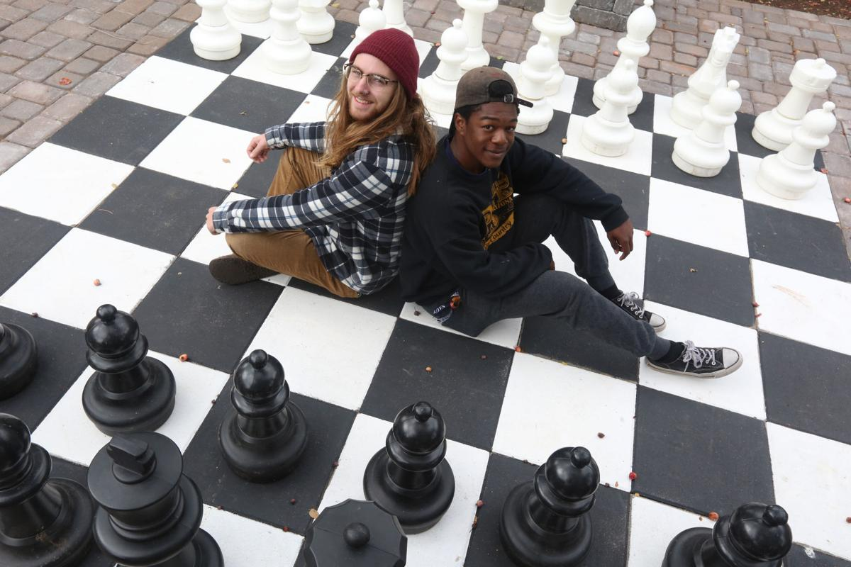 Giant Chess at Murdoch Center
