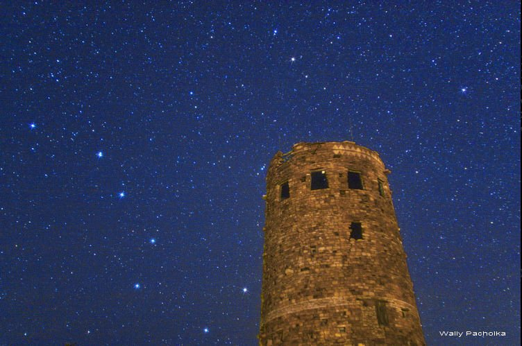 The Watch Tower with the Big Dipper