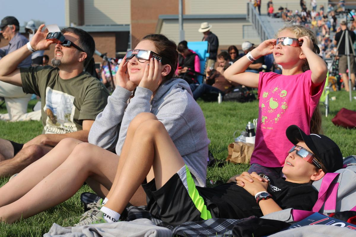 Watching the eclipse in Madras