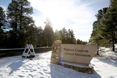 Walnut Canyon Closed